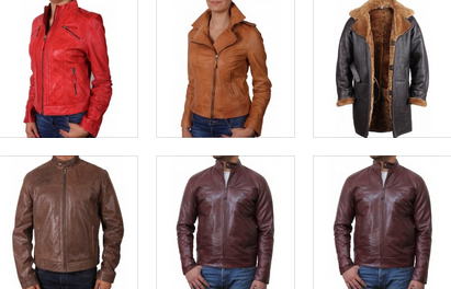 leather jackets in UK
