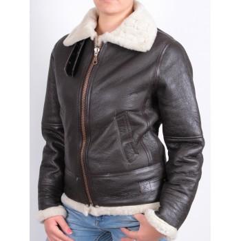 ladies bomber jacket black - Luis