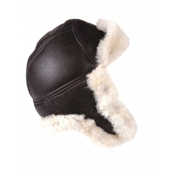 Sheepskin Aviator Pilot Hat