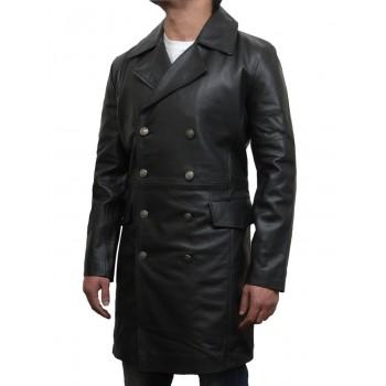 Men's Black Captains Jacket Military Style Real Vintage BNWT-Alvy