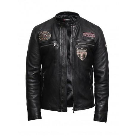 Men's Lambskin Leather Superior Quality Veg Leather Designer Style