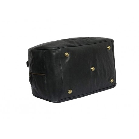Genuine Leather Travel Duffle Bag