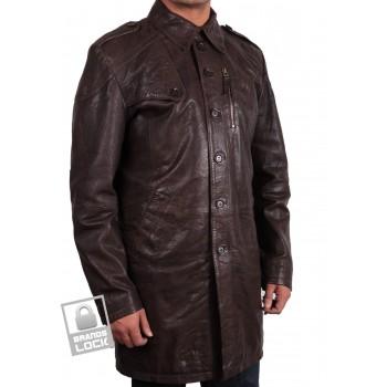 Men's Leather Jacket  Brown - Outsider
