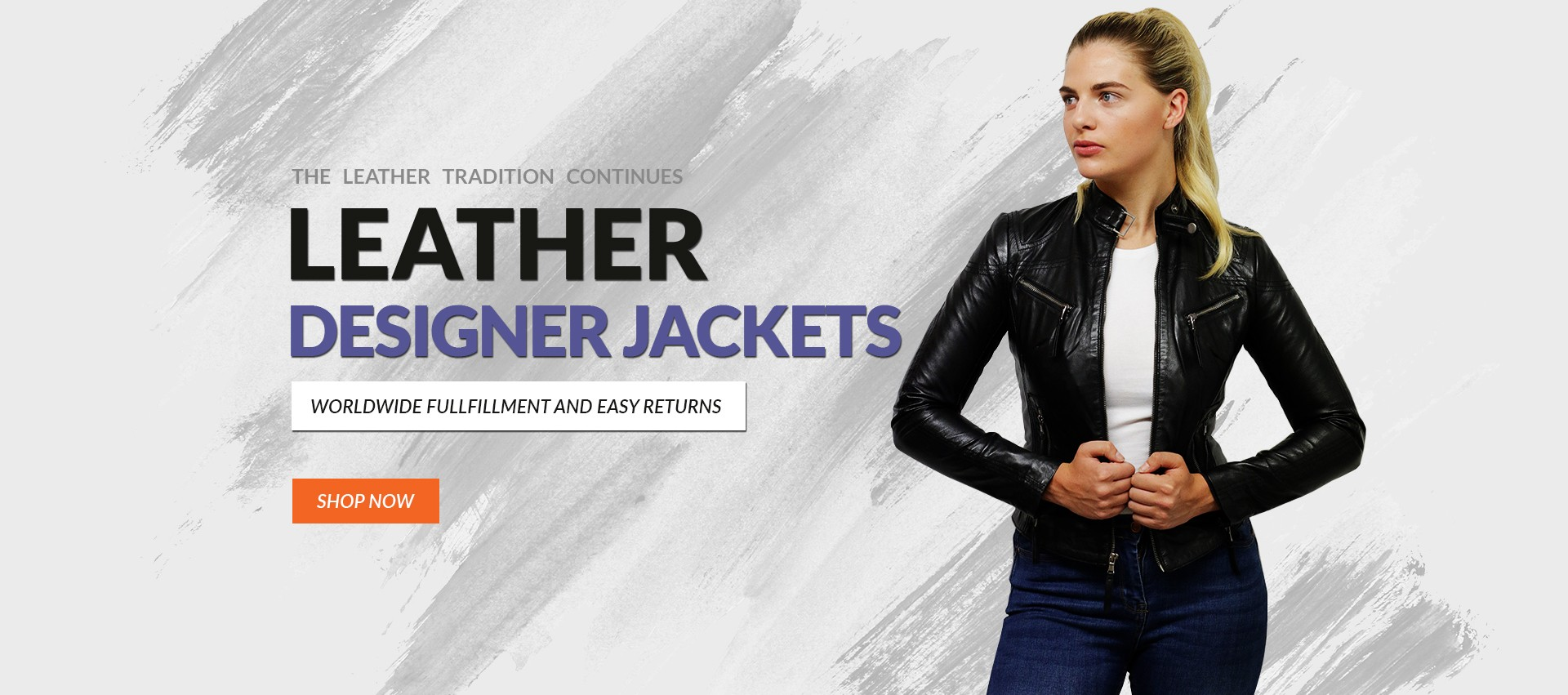 Womens Leather Biker Jackets