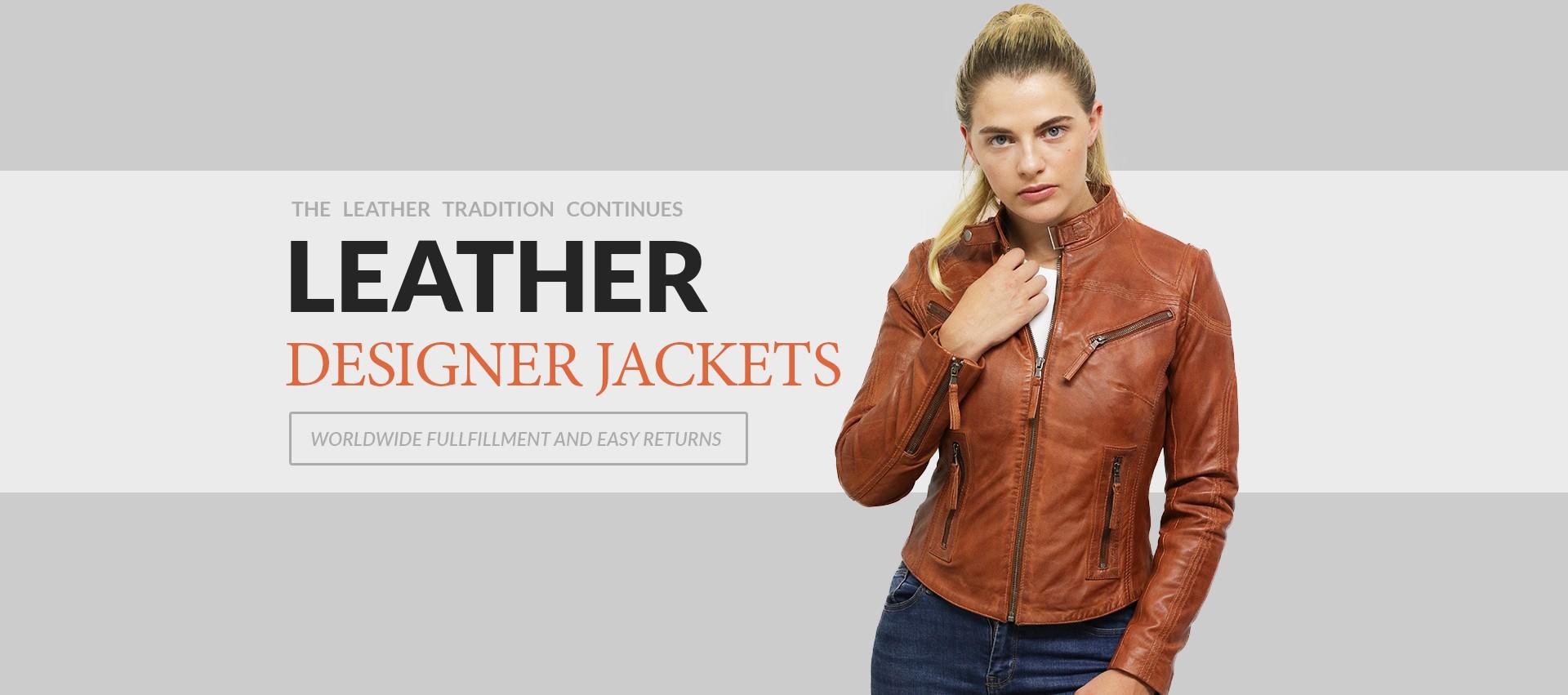 Finest Genuine Sheepskin Leather Jackets