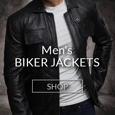 Men Biker Jackets