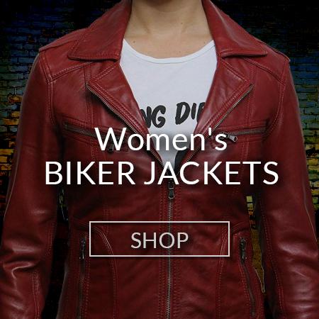 Women Biker Jackets